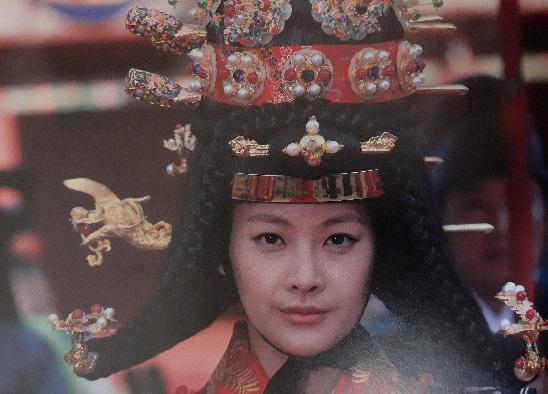 イヌォン王妃役オ・ヨンソ2